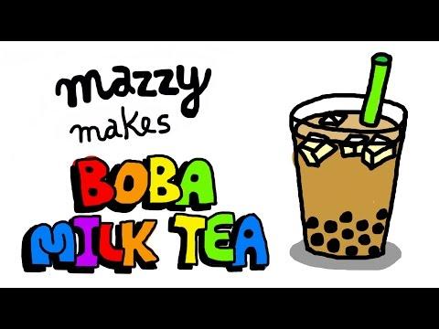How to Make BOBA MILK TEA (Tapioca Tea, Bubble Tea, Pearl Tea) - Simple Recipes with Mazzy (EP 11)