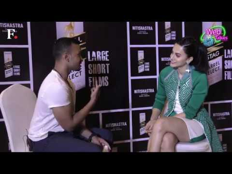 Taapsee Pannu in conversation with Imran Ismail