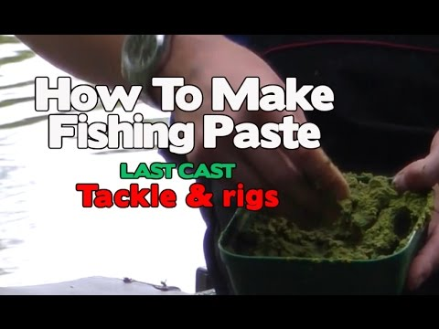 How To Make Fishing Paste Coarse Fishing