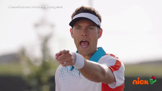 "Power Rangers Ninja Steel - Invisible Girl Tennis Match | Episode 18 ""Abrakadanger"" 