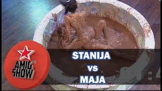 Stanija vs Maja - Rvanje u čokoladi (Ami G Show S11)