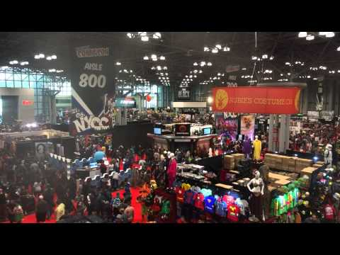 The Floor at NY ComicCon 2014