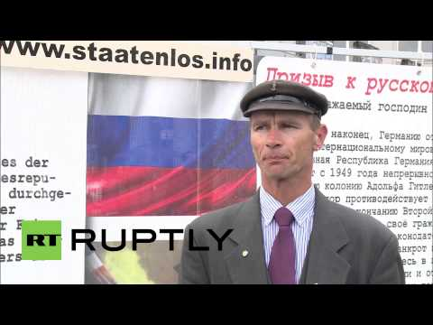 Germany: Staatenlos call on Russia to liberate Germany from 'fascism'