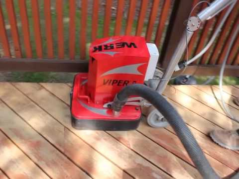 Cedar Deck Refinishing How To Video