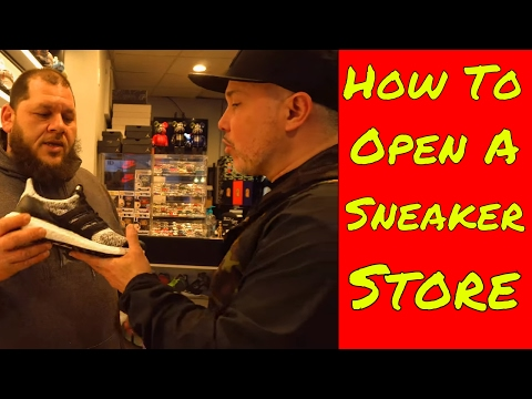 How to Start a Sneaker Business, Tips and Interview