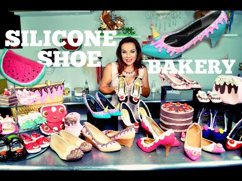 DIY REVAMP OLD SHOES & HANDBAGS USING SILICONE (NOT EDIBLE)   PIN-UP STYLE   BY VERUSCA WALKER
