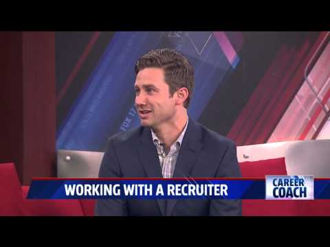 Career Coach on Fox 17- Working with a Recruiter