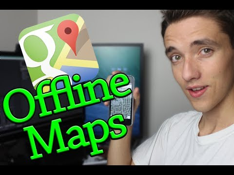 Google Offline Maps Trick on iOS