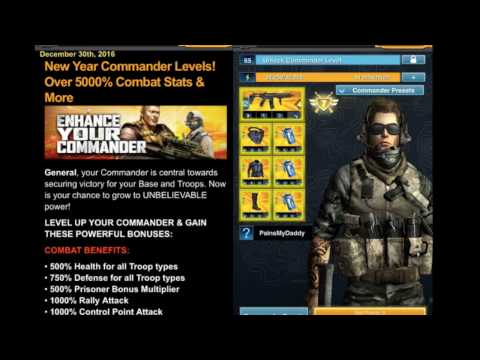 Mobile Strike NEW COMMANDER LEVELS 66 - 70 OUT NOW HUGE BOOSTS!!