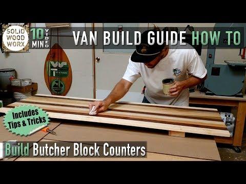 Build Butcher Block Counter Tops