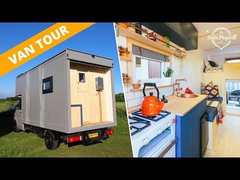 Van Tour - Beautiful Box Van Luton Conversion **FOR SALE**