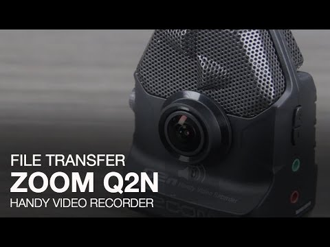 Zoom Q2n: Transferring Files to Your Computer
