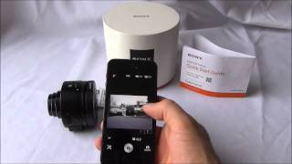 Sony QX Series Lens Style Camera: How to pair to an Apple iOs device via Playmemories
