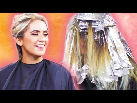 BFF React To Each Other's SURPRISE Hair Color MAKEOVER   mitú