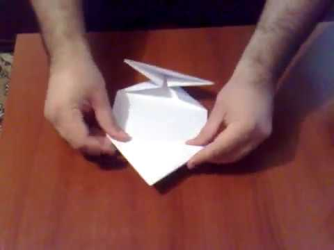 Copie a how to make an alien warship-origami