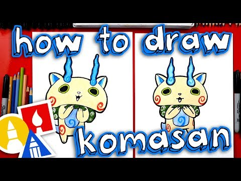 How To Draw Komasan From Yo-kai Watch