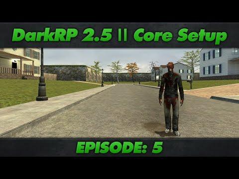 DarkRP 2.5 Core Setup : Episode 5 : Custom Vehicles