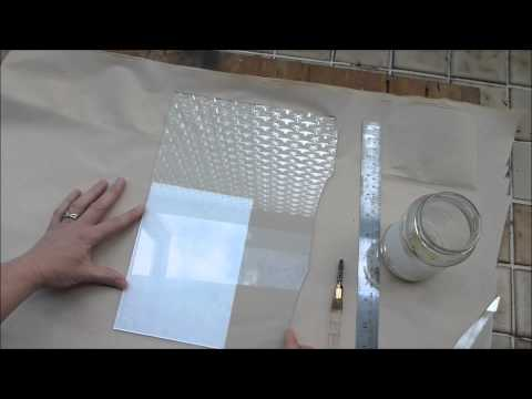 How to Cut Glass to Fit a Picture Frame