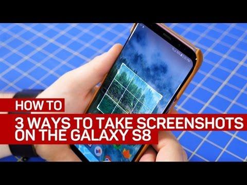 3 ways to take screenshots on the Galaxy S8