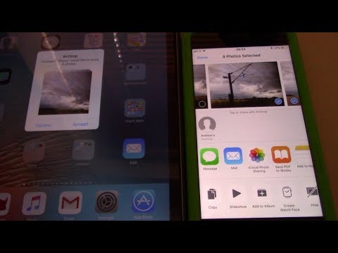 How to Use AirDrop on iPhone 7 with iOS 11