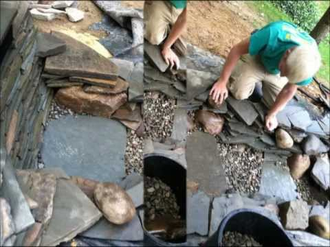 How to build a pondless waterfall DIY
