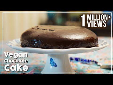Vegan Chocolate Cake - No Butter, No Egg Cake Recipe - My Recipe Book By Tarika Singh