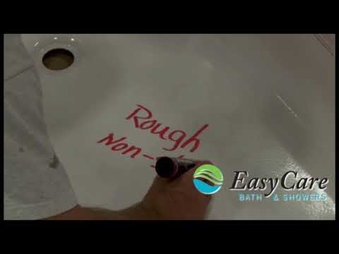 EasyCare Bath & Showers - Easy to Clean Non-Slip Surface