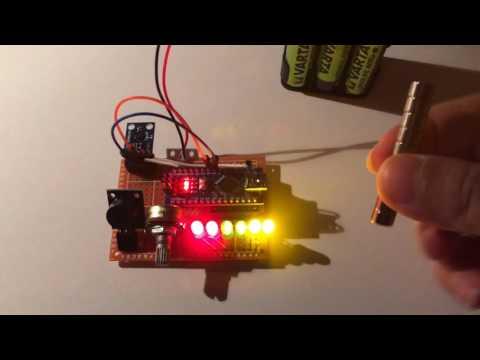 Magnetic force field change detector v4