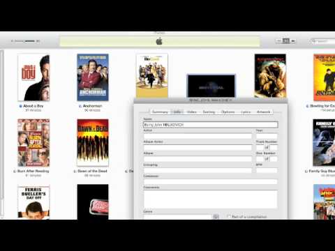 How to get DVD artwork for iTunes