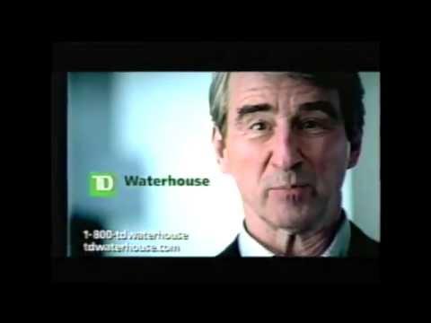 TD Waterhouse Commercial - Sam Waterston - 2004