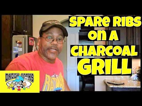How to prepare BBQ Spare Ribs on a charcoal grill