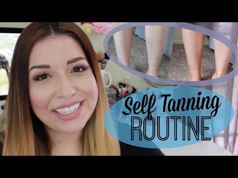 Self Tanning Routine| Light & Natural with St. Tropez