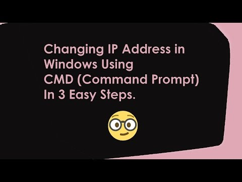 How to Change IP Address in Windows Using CMD (Command Prompt) In 3 Easy Steps.🤓