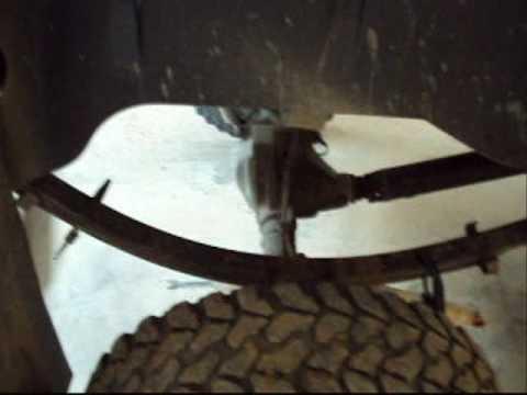 Fixing 94 Dodge Ram leaf spring