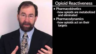 """""""Intro to the Treatment of Pain with Opioid Medications"""" by Dr. Charles Berde, for OPENPediatrics"""