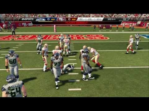 Madden NFL 25 (PS4): Seahawks at 49ers