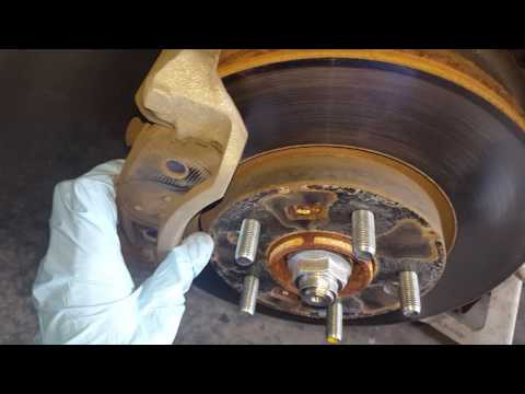 How to replace the front brake pad on a kia soul