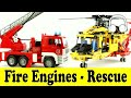 Fire Engines Rescue Cars Family Sing Along Muffin Songs Pozh