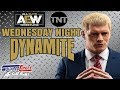 Latest AEW TNT TV News All Elite Wrestling Files Trademark For Wednesday Night Dynamite
