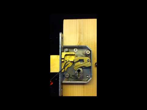 HOW A MORTICE DEADLOCK WORKS
