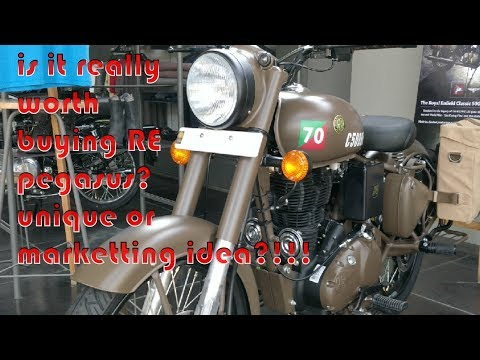 Is it worth buying Royal Enfield Pegasus 500 by spending 2.5L & above? | Short walk-around
