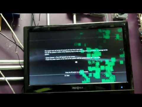 [HD] Broken PS3 working. Bad graphics card RSX