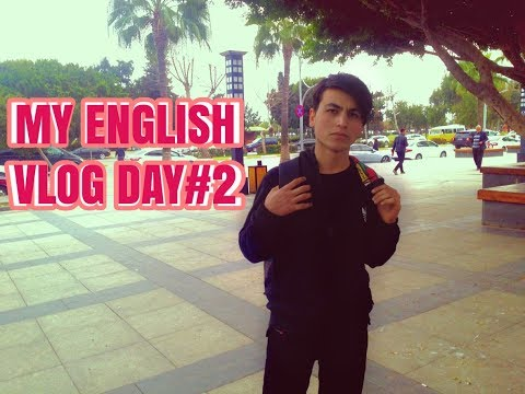 MY ENGLISH VLOG DAY #2 - SCHOOL AND REPORTS ^-^