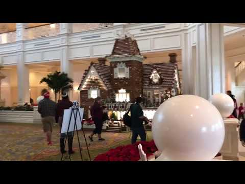 Disney's Grand Floridian Resort - Gingerbread house from the lobby!