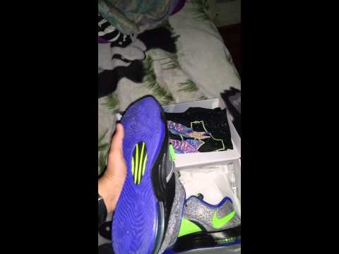 KD 7 Electric Eel unboxing with shirt