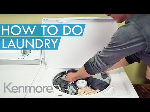 Laundry Basics: How to Do Laundry Properly | Kenmore Top Load Washer