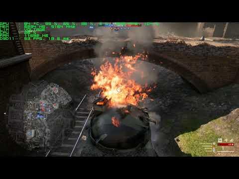 GTX 1080: Battlefield 1 4K Maxed Ultra Settings