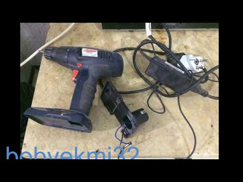 old Cordless Drill to run with laptop charger