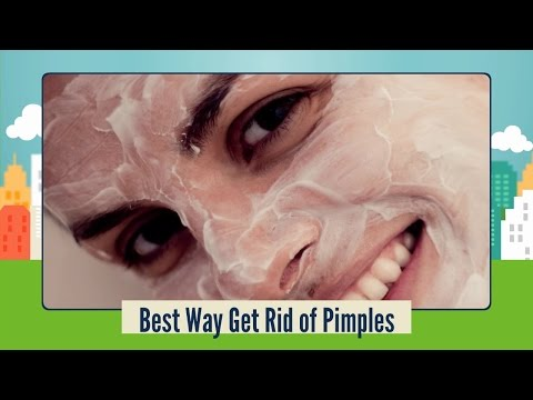 Best Way Get Rid of Pimples - Natural Pimples Home Treatment