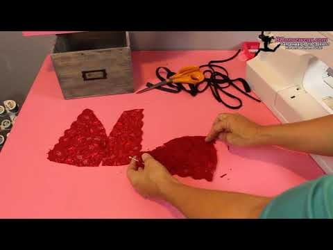 How to Make a Lace Bra